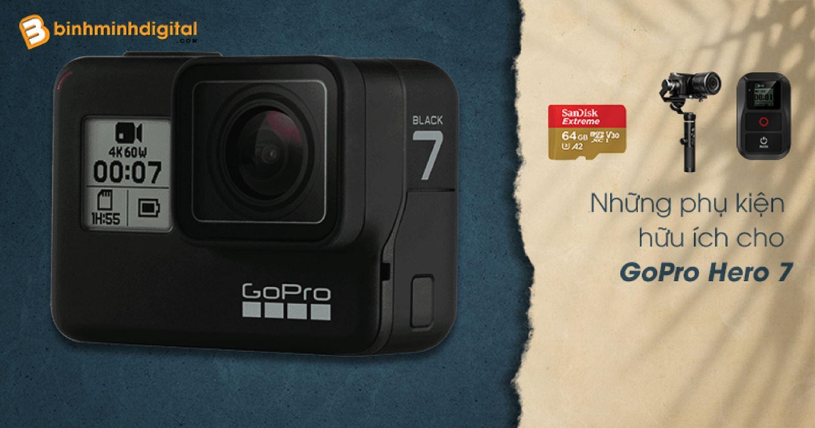 Những phụ kiện hữu ích cho GoPro Hero 7