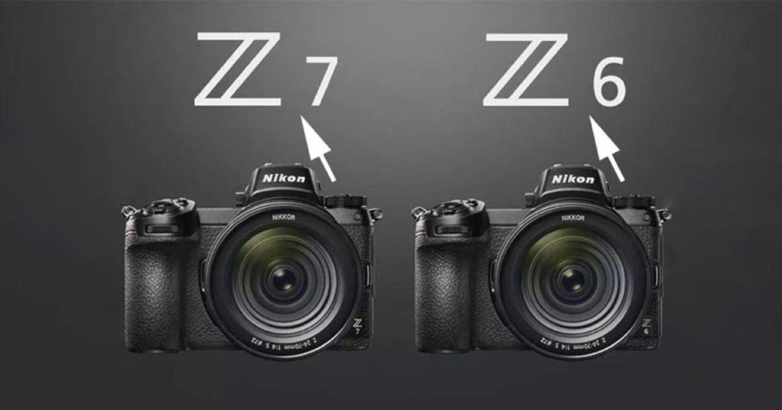 Nikon phát hành firmware 2.01 chomáy ảnh không gương lậtNikon Z6 và Z7