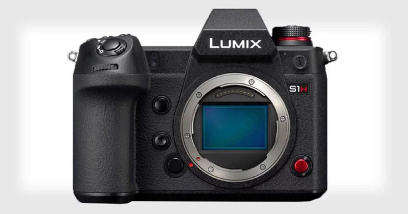 Panasonic trình làng Lumix S1H - Máy ảnh không gương lật 6Kđầu tiên trên thế giới