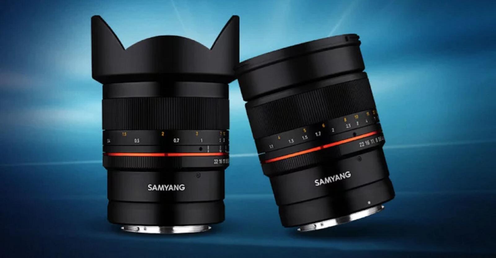 Samyangcông bố bộ đôiống kính MF 14mm f/2.8 RF và MF 85mm f/1.4 RF cho ngàm Canon RF