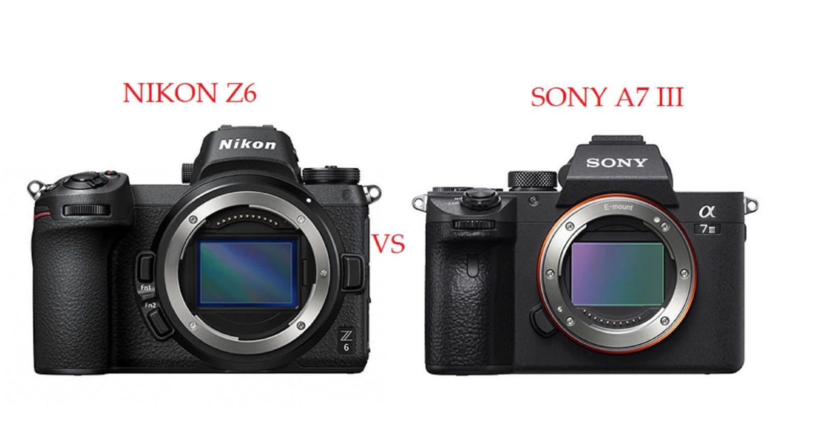 So sánh máy ảnh Nikon Z6 và Sony A7 III