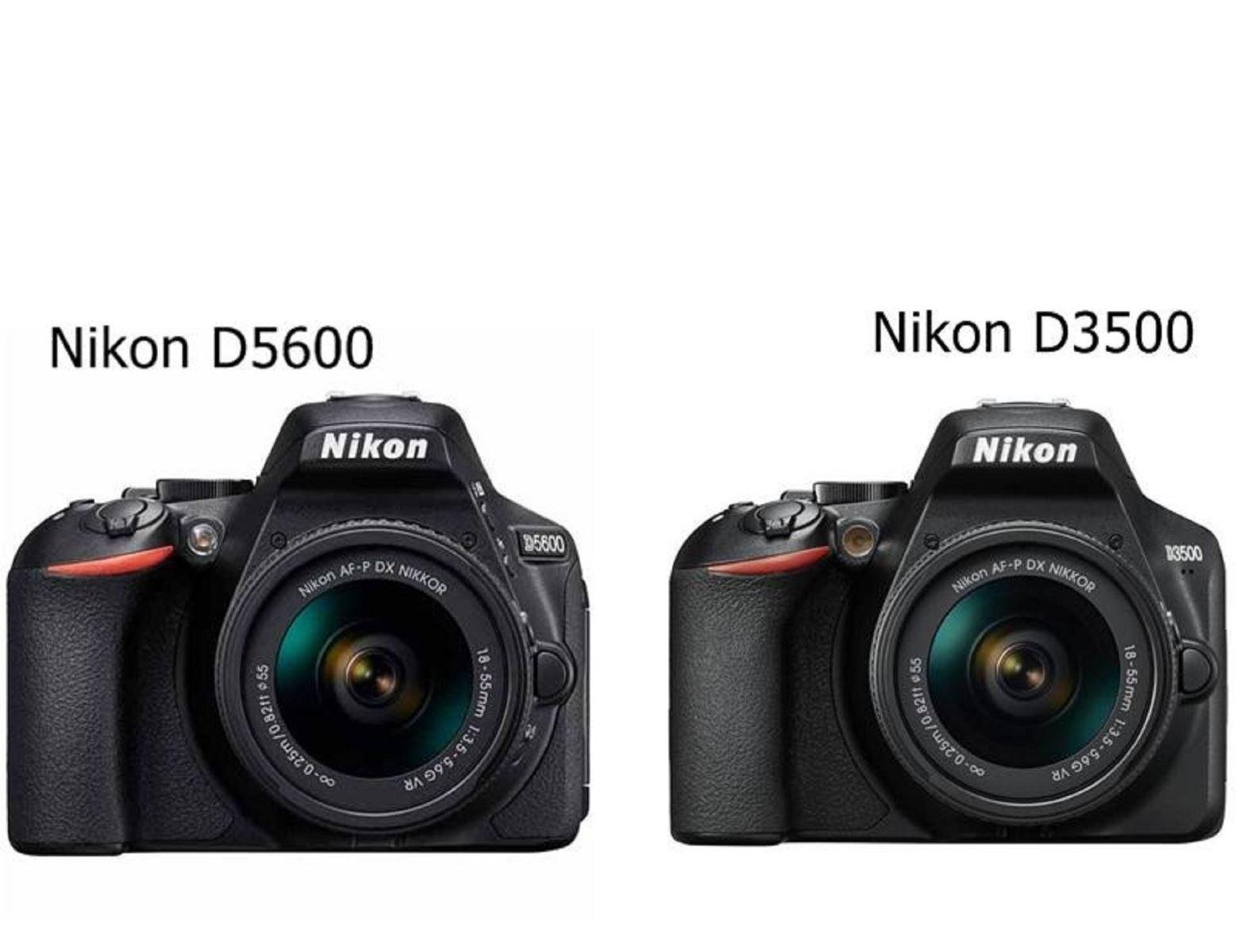 So sánh máy ảnh Nikon D3500 và máy ảnh Nikon D5600