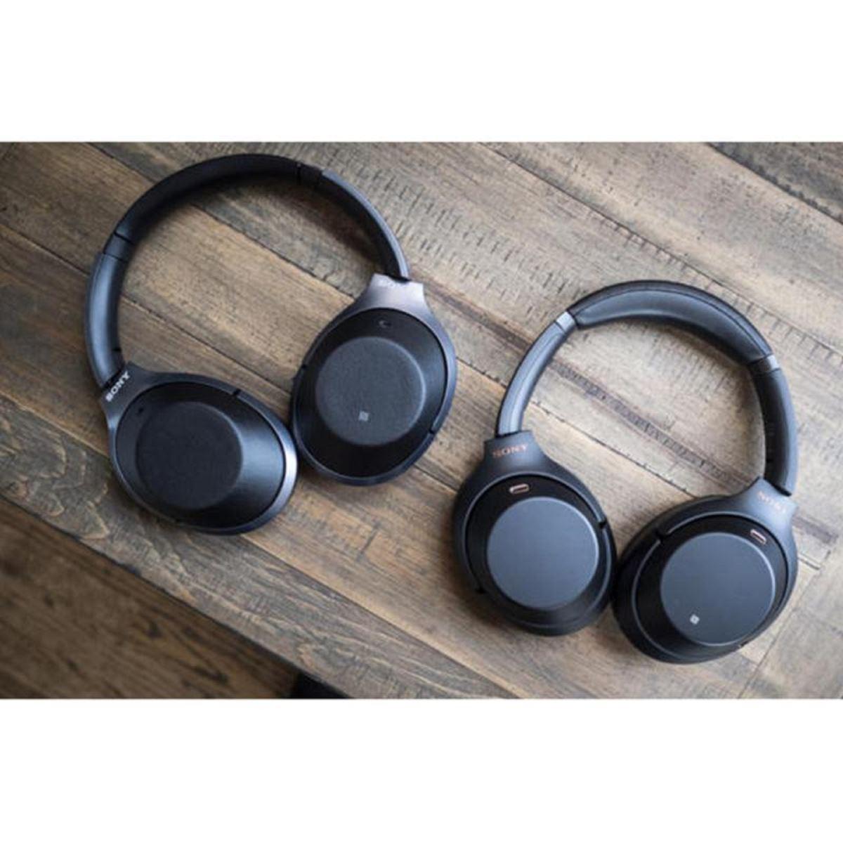 Sony ra mắt tai nghe chống ồn cao cấp WH-1000XM3