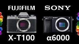 Sony A6000 và Fujifilm X-T100