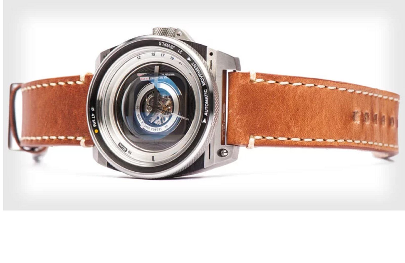 TACS ra mắt mẫu đồng hồ 'chất lừ' lấy cảm hứng từ ống kính