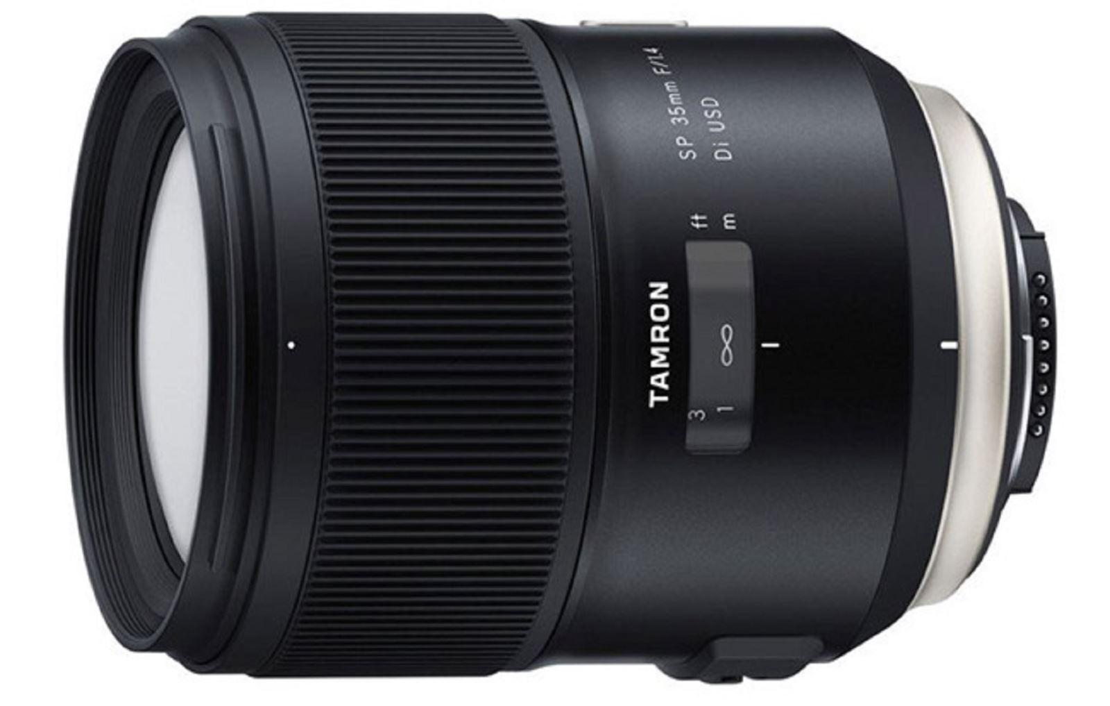 Tamron chính thứcra mắtống kính SP 35mm f/1.4 Di USD - Ống kính Prime tốt nhất của dòng này