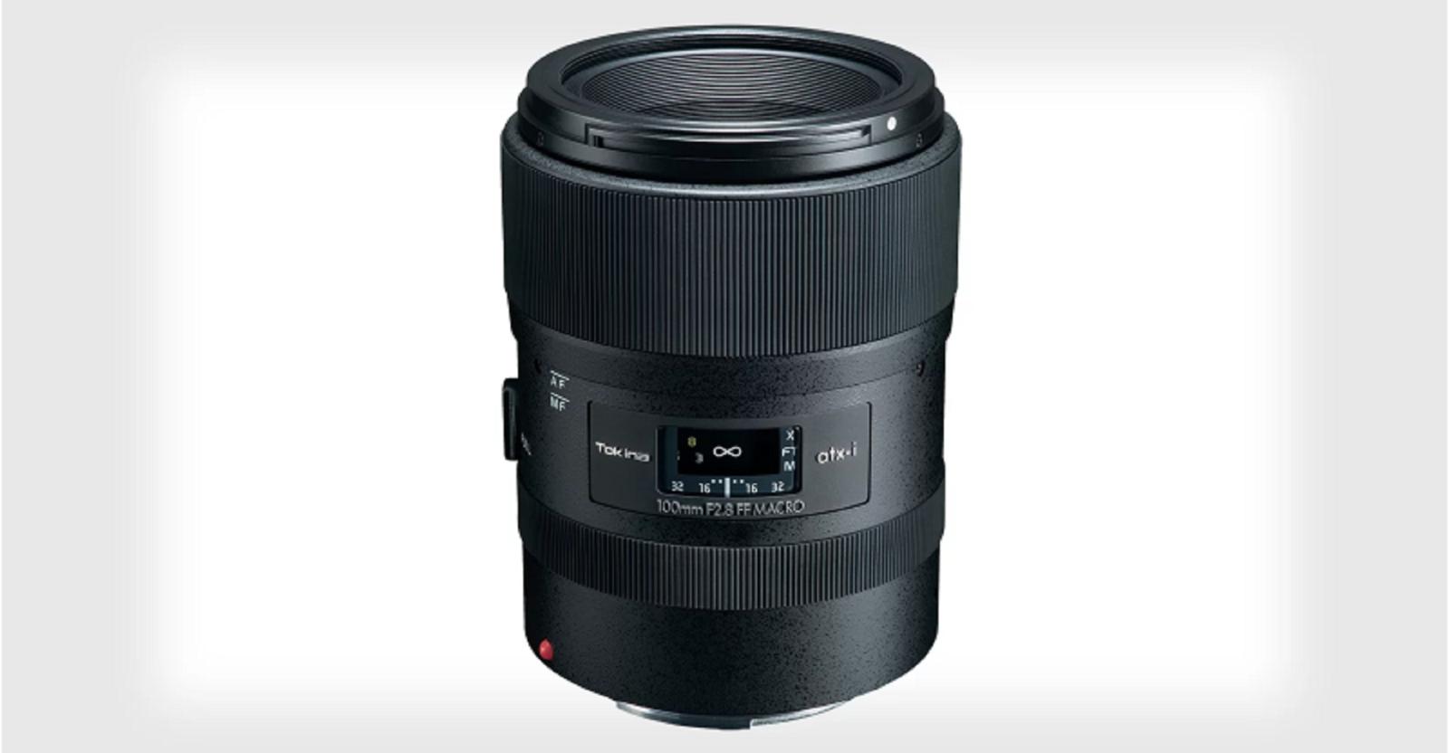 Tokina tiết lộ ống kínhatx-i 100mm f/2.8 Macro FFchoCanon và Nikon