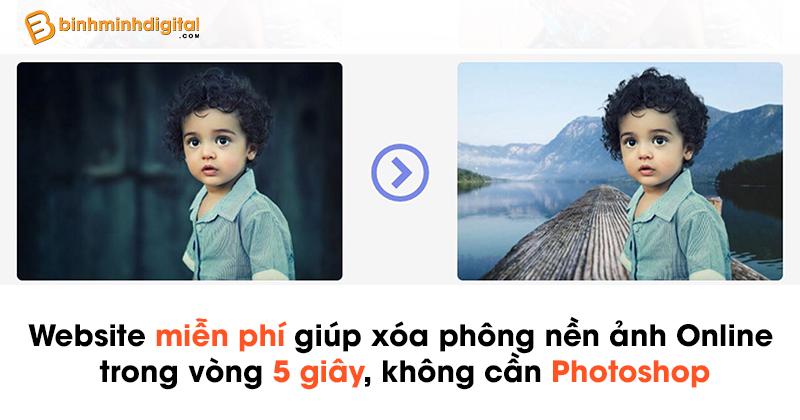 Website miễn phígiúp xóa phông nền ảnh Online trong vòng 5 giây,không cần Photoshop