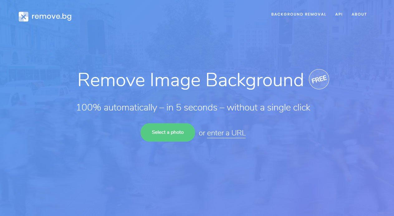 Website miễn phí giúp xóa phông nền ảnh Online trong vòng 5 giây, không cần Photoshop