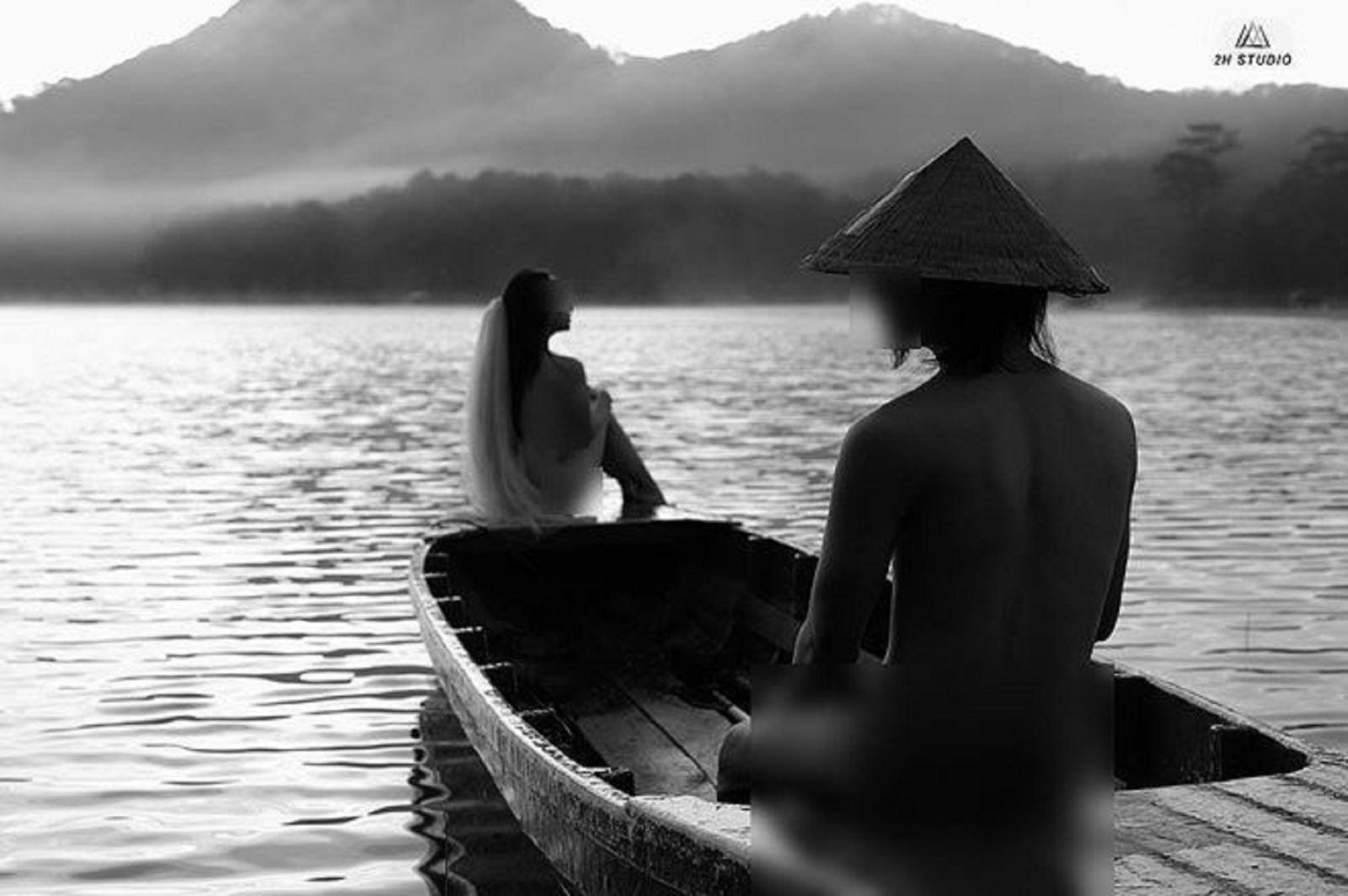 Bộ ảnh cưới Nude hồ Tuyền Lâm bị ném đá gay gắthot nhất hiện nay