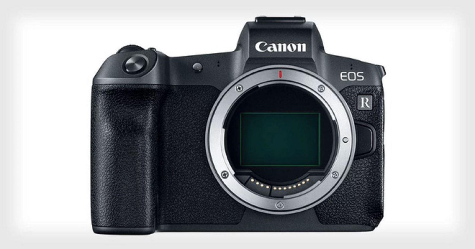 Canon cập nhậpfirmware V1.1.0choEOS R