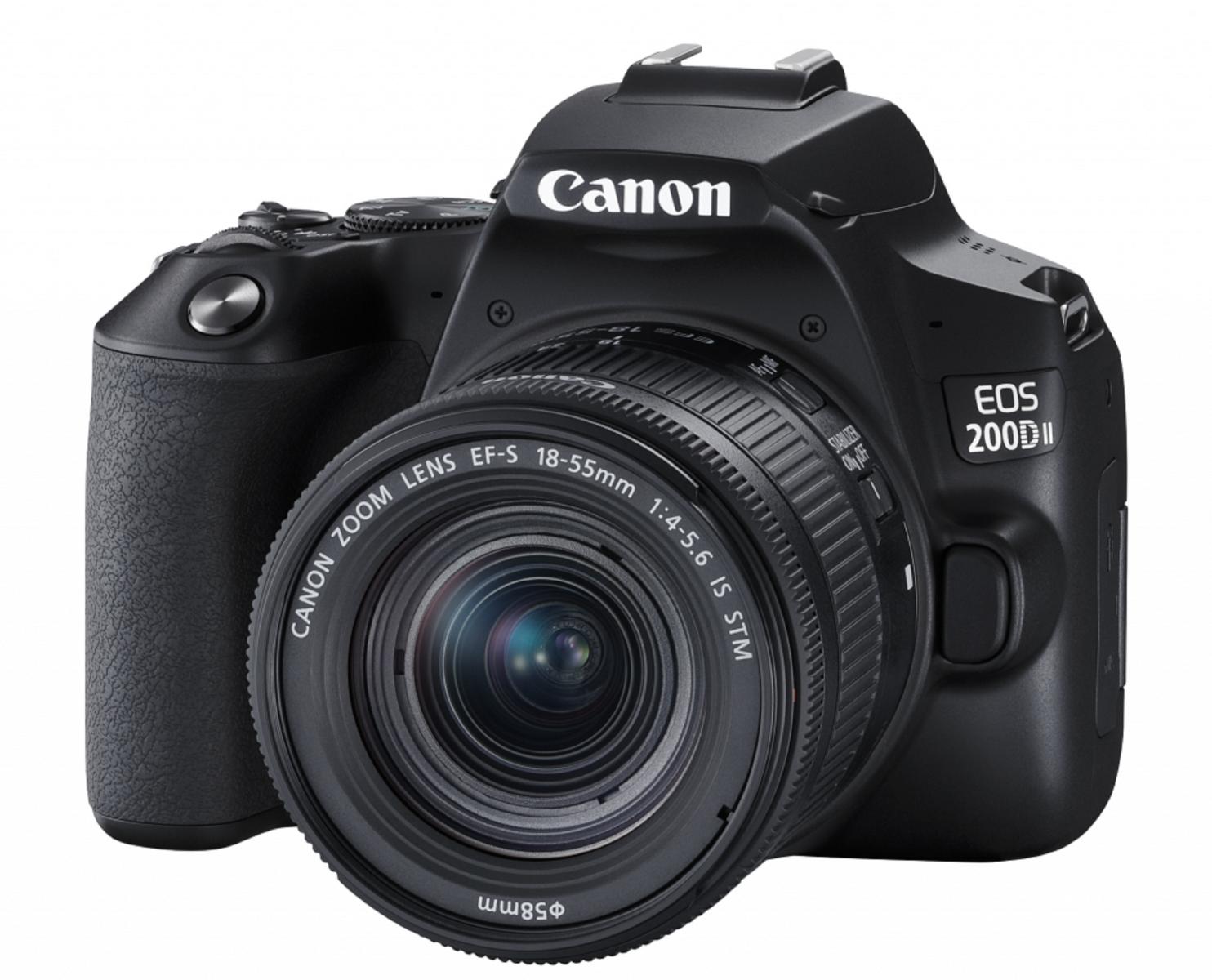 Canon ra mắt EOS 200DII:DSLR nhỏ gọn,quay phim 4K,giá $600