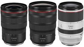 """Canon """"rục rịch"""" ra mắt 3 ống kính 'Holy Trinity' ngàm RF vào tháng 7"""