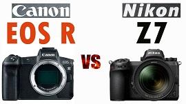 Cuộc đối đầu giữa Nikon Z7 và Canon EOS R