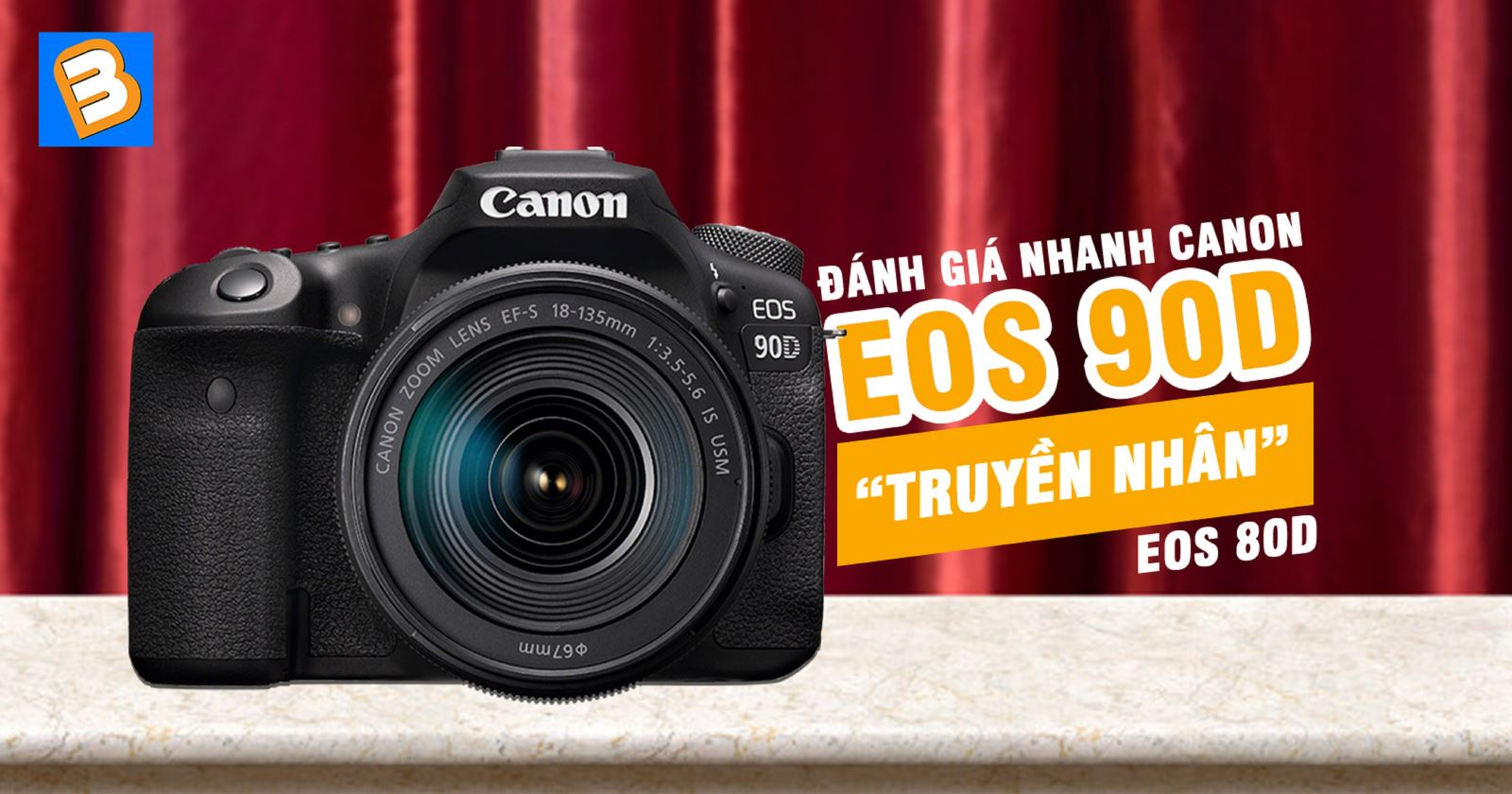 Đánh giánhanh Canon EOS 90D - 'truyền nhân' EOS 80D