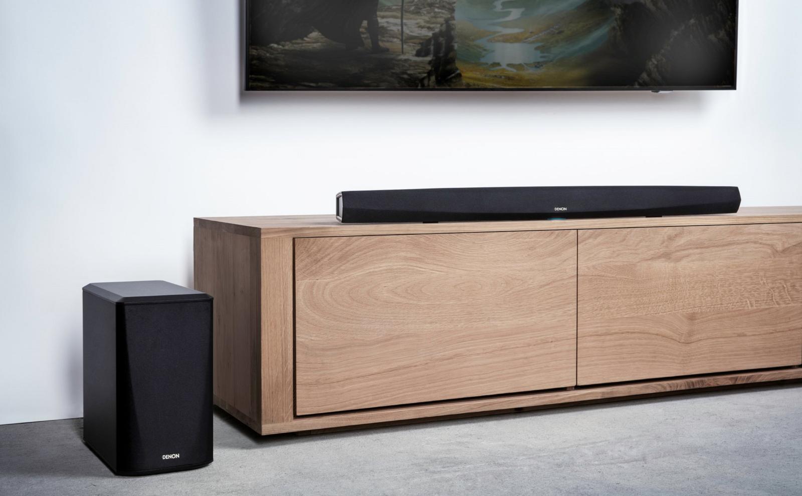 Denon ra mắthai mẫu loa soundbar cao cấpDHT-S516H vàDHT-S716H