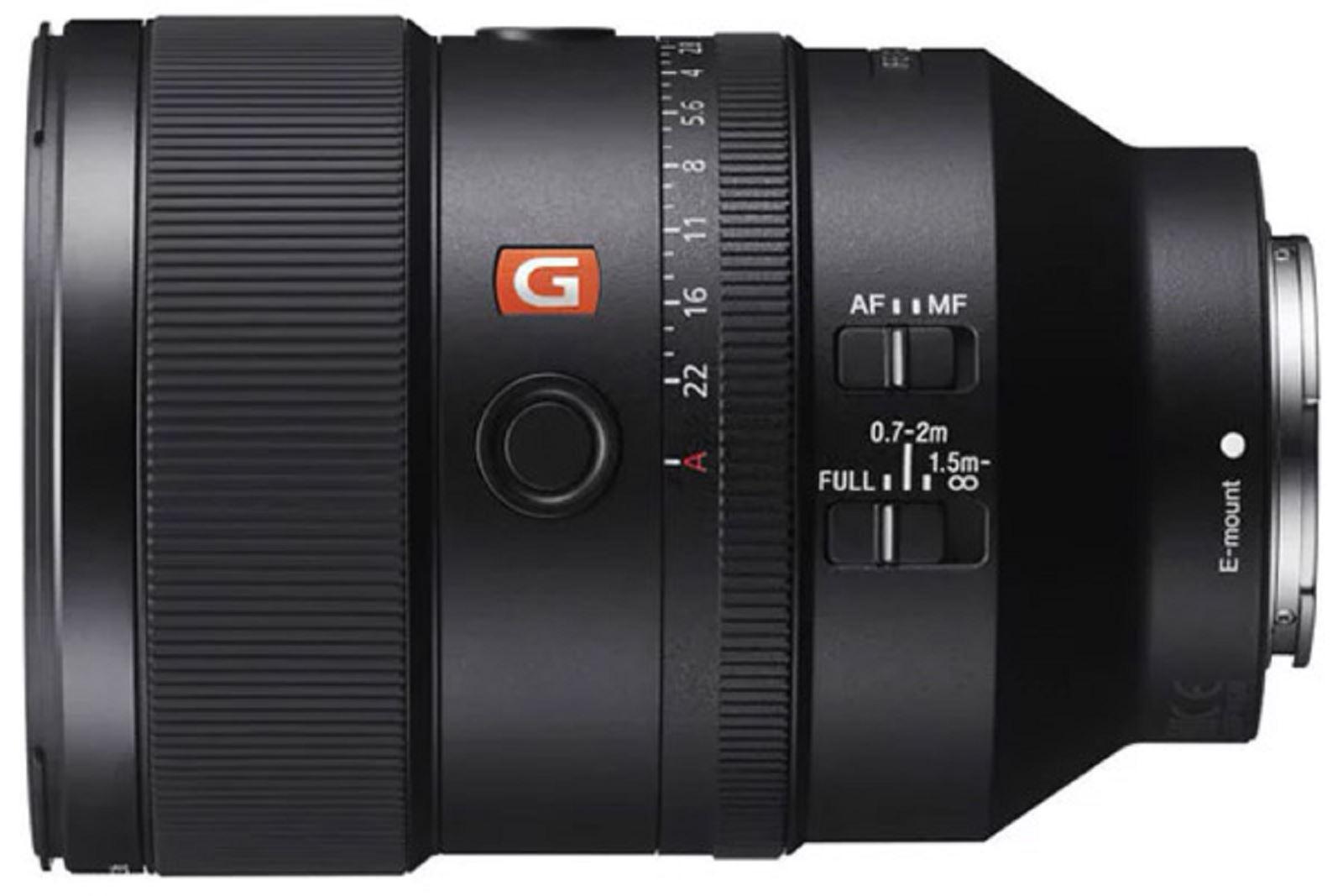 Sony trình làng ống kính FE 135mm F1.8 GM