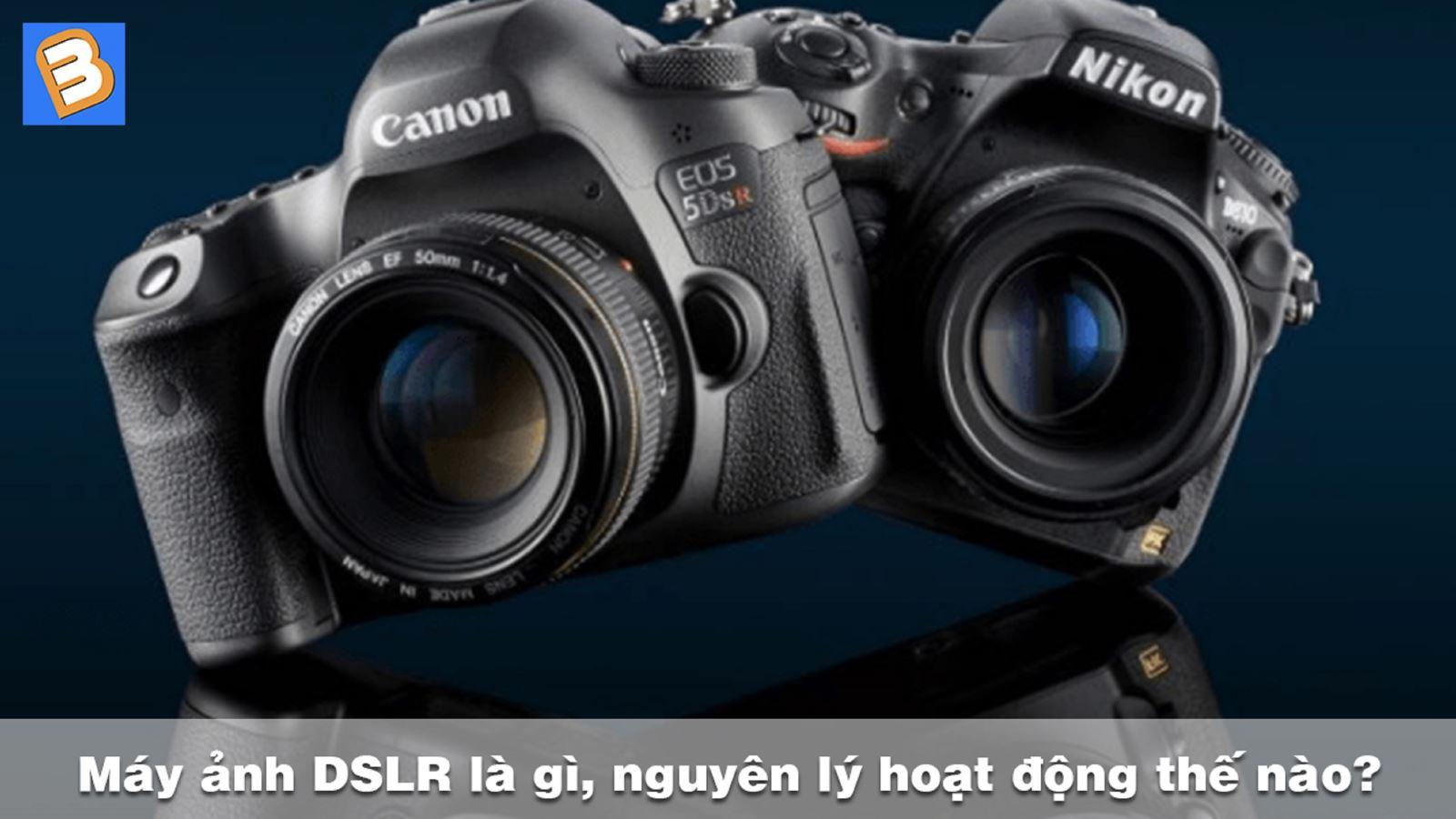 Máy ảnh DSLR là gì, nguyên lýhoạt độngthế nào?