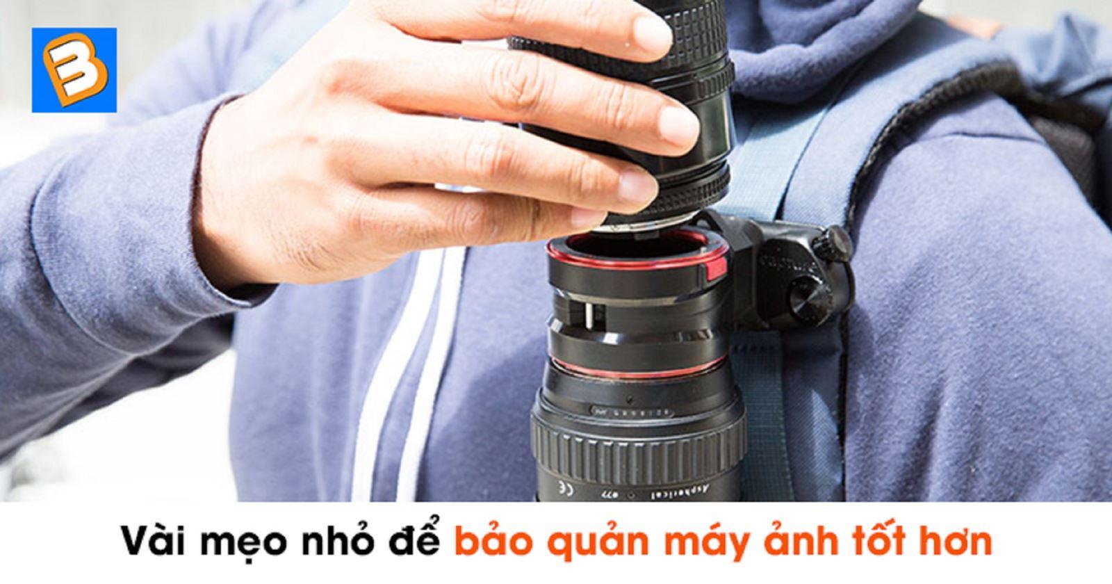 Vài mẹo nhỏ đểbảo quản máy ảnh tốt hơn