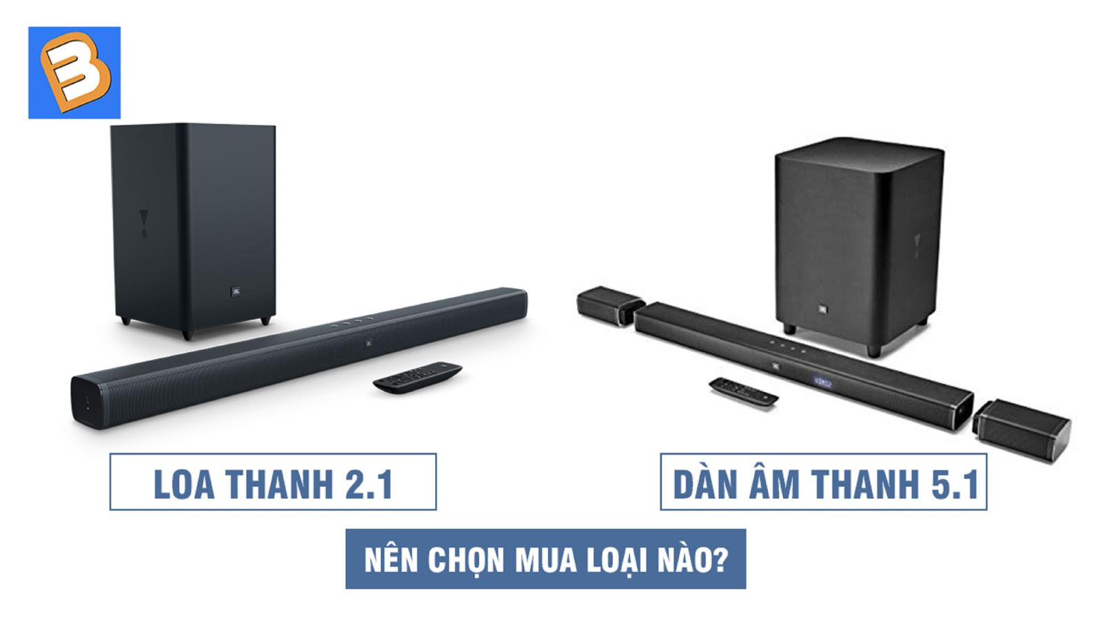 Dàn âm thanh 5.1 vàloa thanh2.1:Nên chọn mua loại nào?