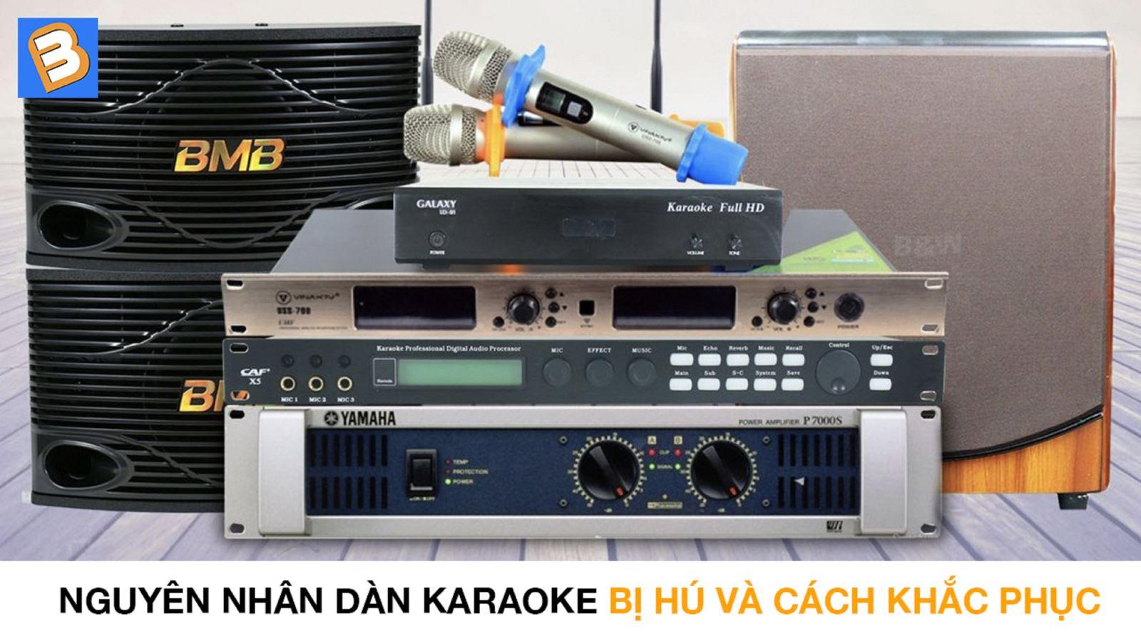 Nguyên nhân dàn karaoke bị hú và cách khắc phục