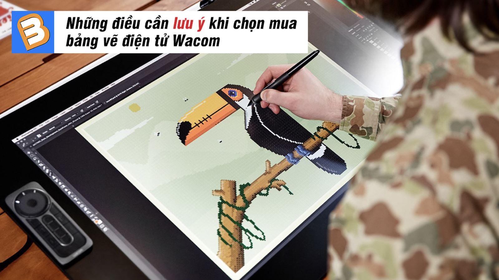 Những điều cần lưu ý khi chọn mua bảng vẽ điện tử Wacom