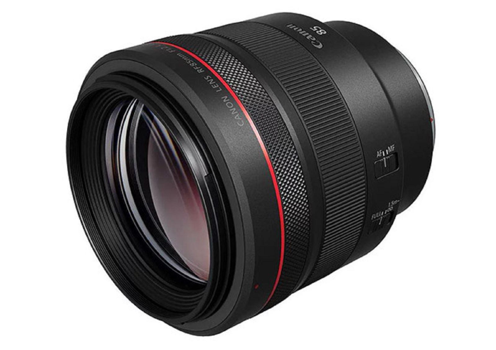 Canon công bốRF 85mm f/1.2L: Ống kính chân dung cao cấp dành cho máy ảnh mirrorless full frame