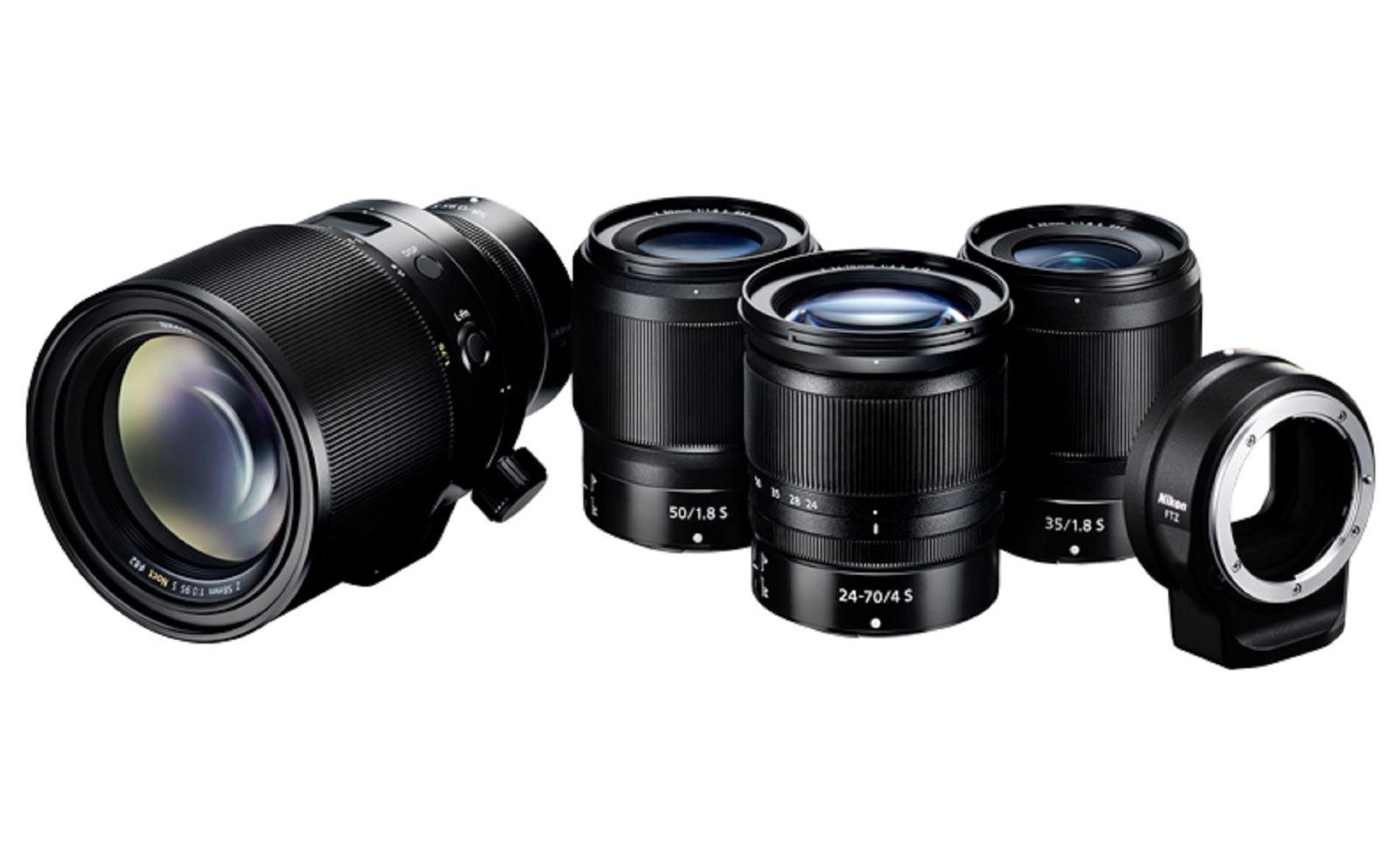 Nikon chính thức ra mắt ba ống kính NIKKOR Z dòng S dành cho Nikon Z6 và Z7