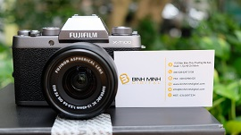 Review máy ảnh Fujifilm X-T100