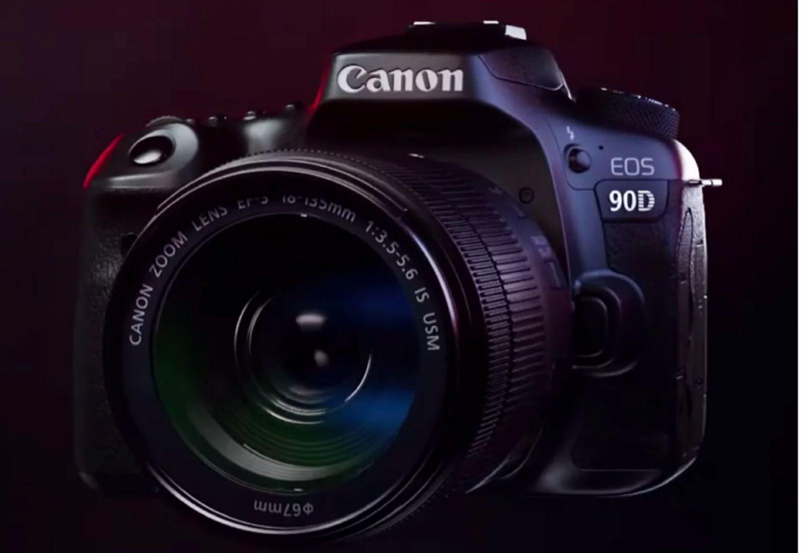Rò rỉ video giới thiệu hai máy ảnhCanon EOS M6 Mark IIvà Canon EOS 90D trước khi ra mắt