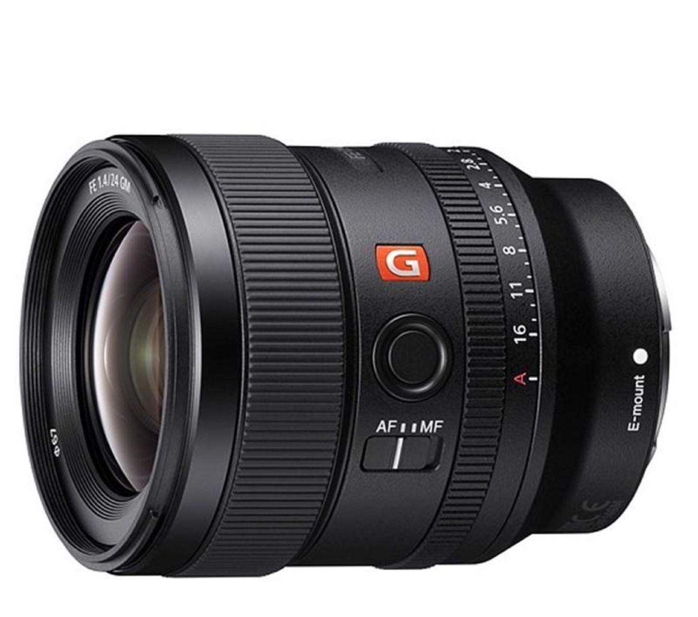 Sony ra mắt ống kính FE 24mm f1.4 G Master nhỏ gọn