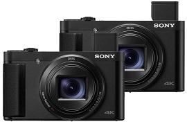 Sony tung bộ đôi máy ảnh Sony Cyber-shot HX99, HX95 4K siêu mỏng