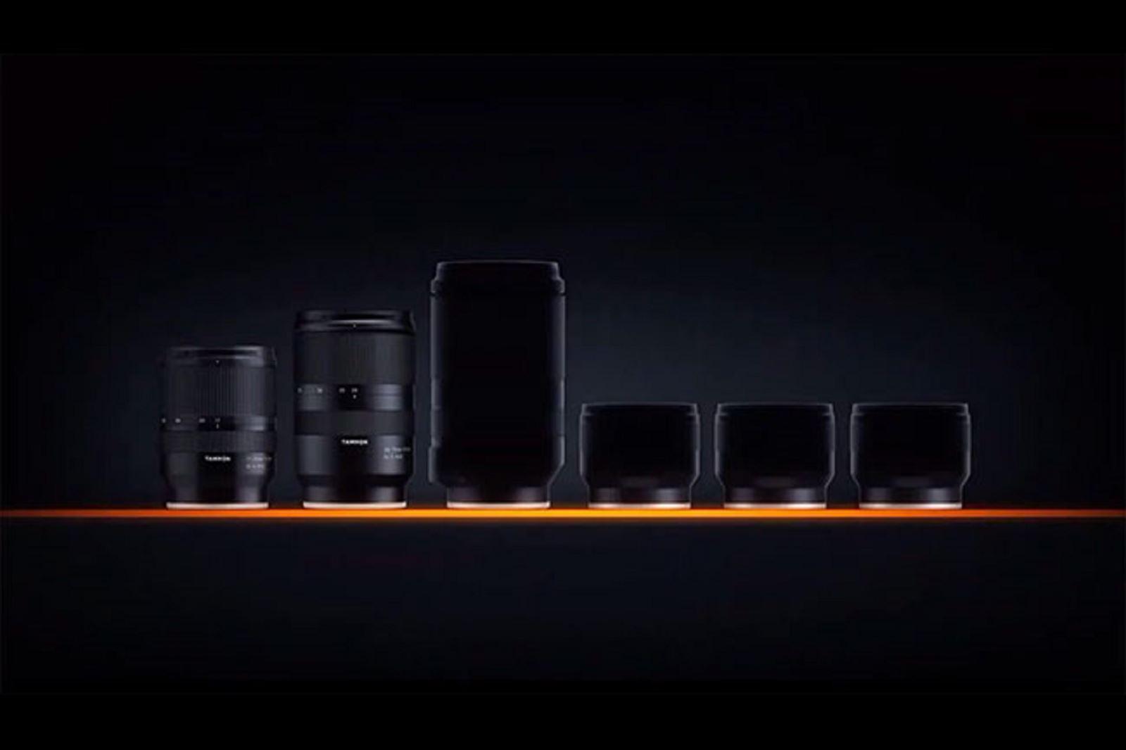Tamrontung teaserhé lộ bốn ống kínhmớidành cho máy ảnhSony ngàm E