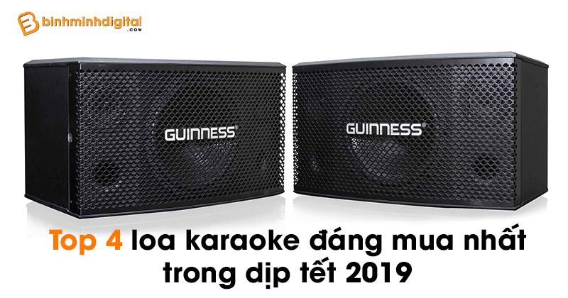 Top 4 loa karaoke đáng mua nhất trong dịp tết 2019