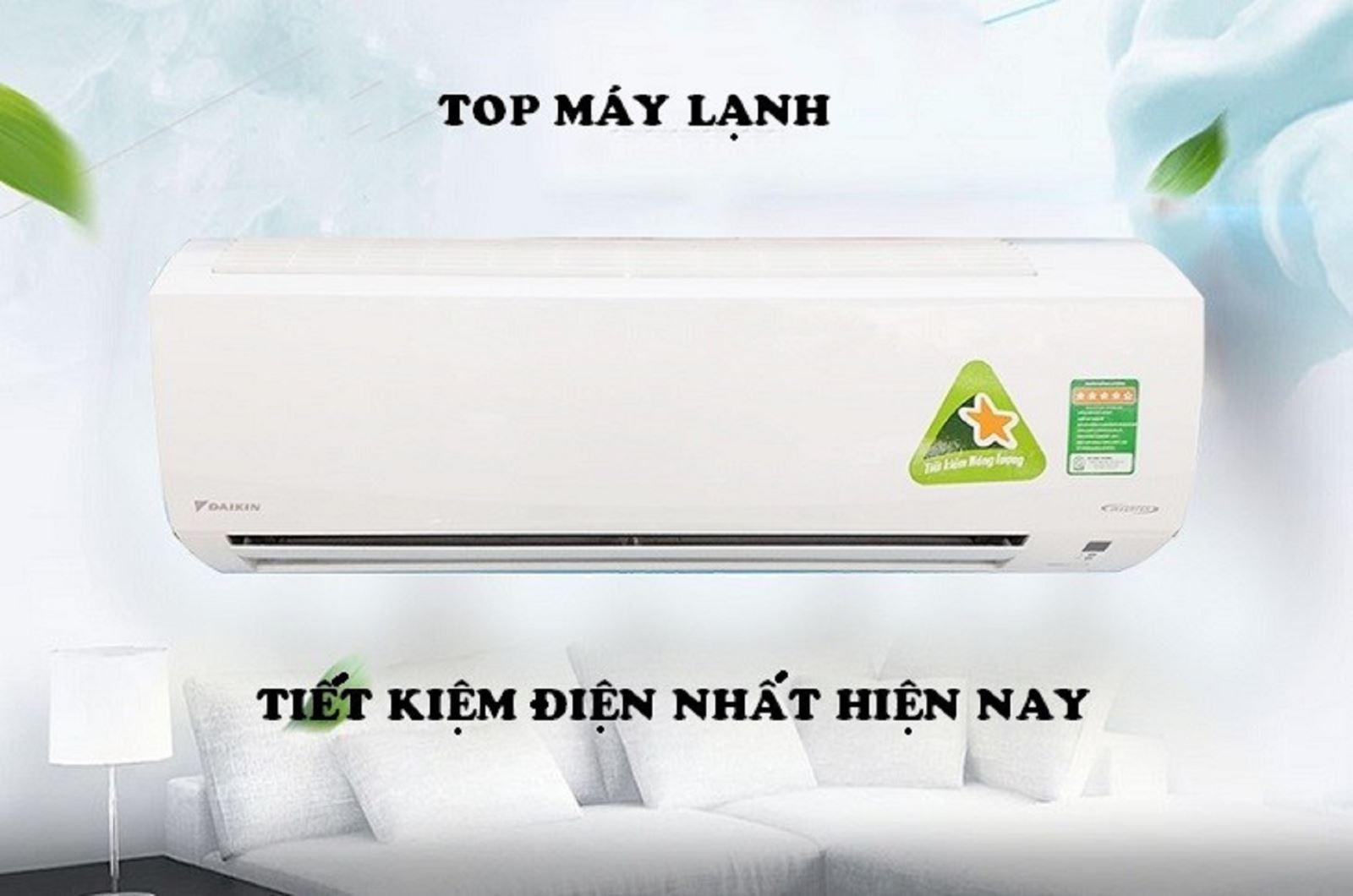 Top 5 máy lạnh tiết kiệm điện tốt nhất hiện nay