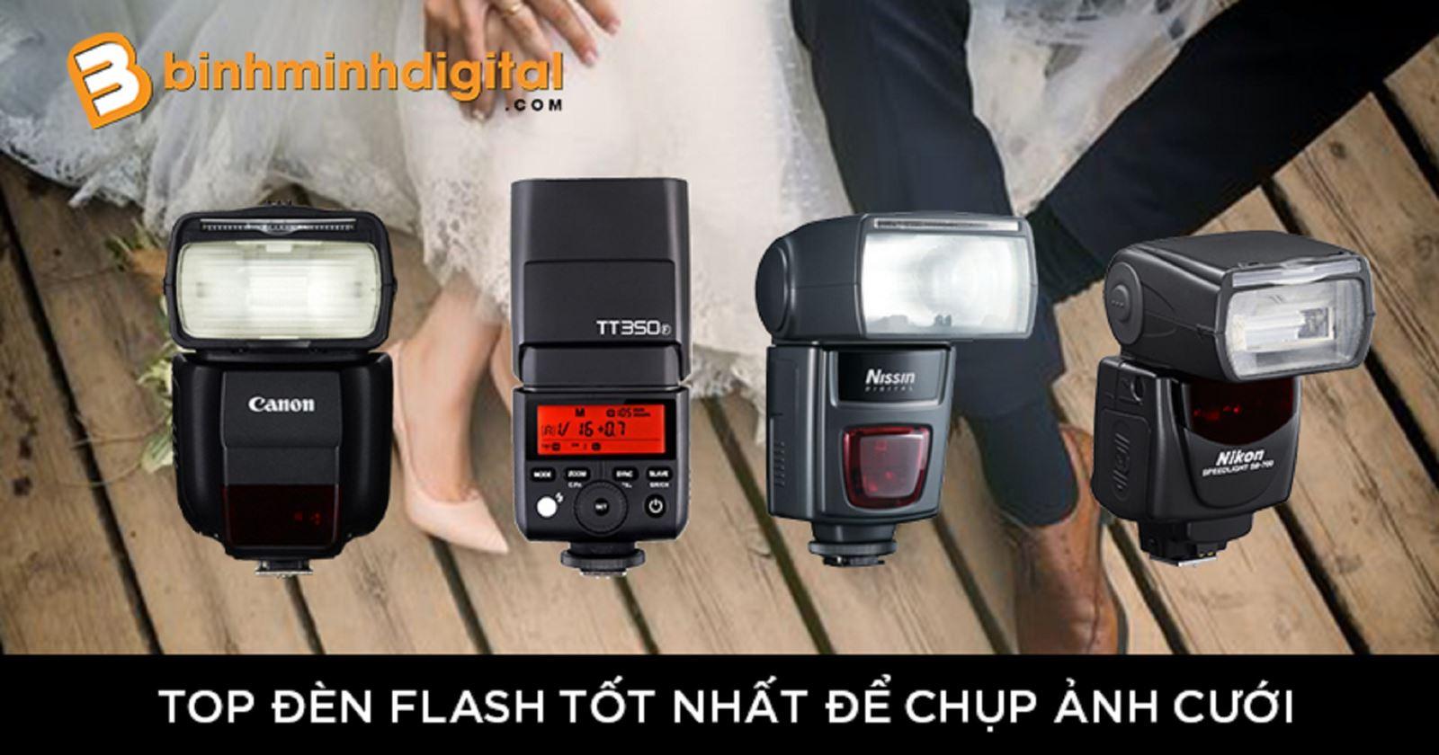 Top đèn Flash tốt nhất để chụp ảnh cưới