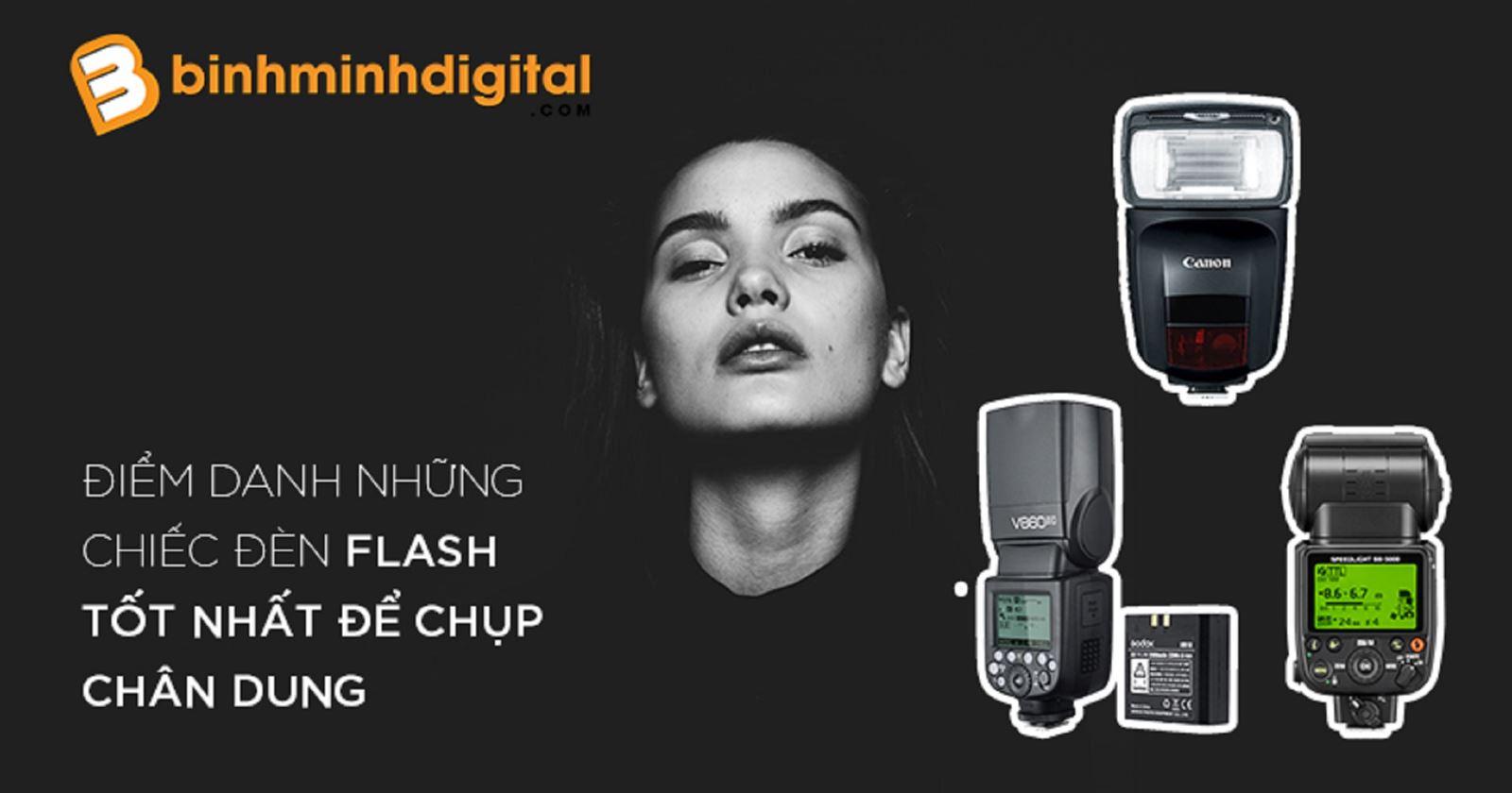 Điểm danh những chiếc đèn Flash tốt nhất để chụp chân dung