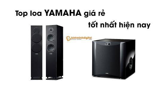 Top Loa yamaha giá rẻ tốt nhất hiện nay