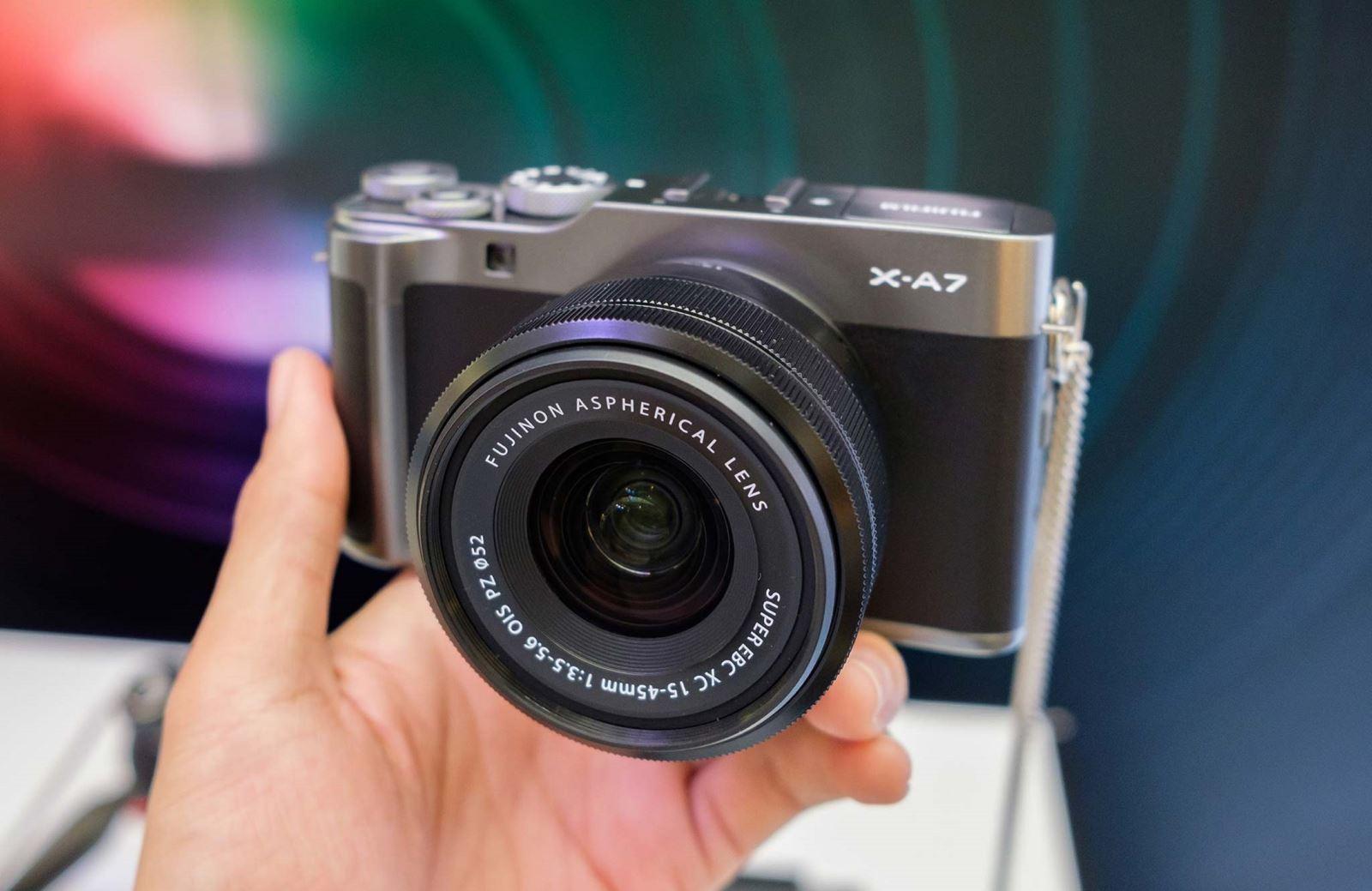 Trên tayFujifilm X-A7: Quay 4K, thiết kế gọn nhẹ, chất lượng ảnh vượt trội