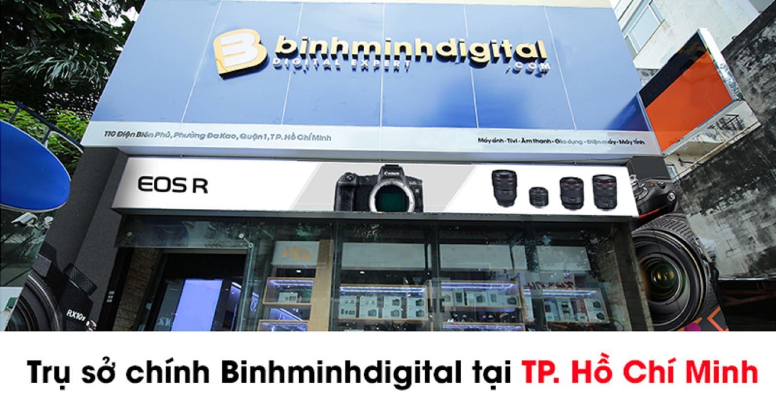 Binhminhdigital - địa chỉ tin cậy cung cấp các sản phẩm âm thanh chính hãng