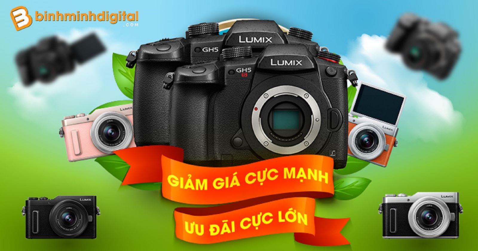Ưu đãi cực lớn khi mua máy ảnhPanasonic tại BinhMinhDigital