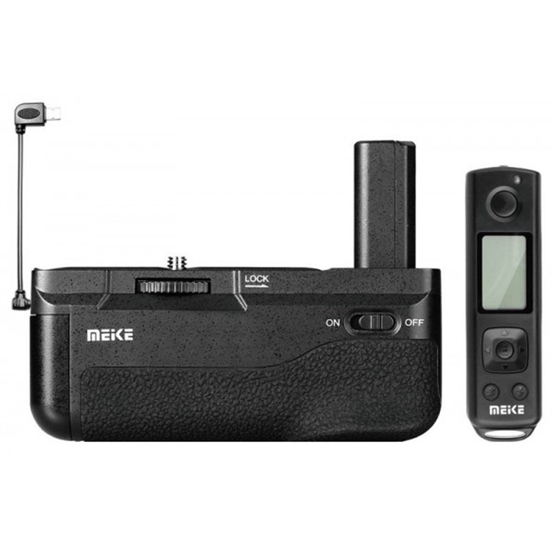 de-pin-grip-meike-pro-for-sony-a6500-with-24ghz-lcd-timelapse-remote
