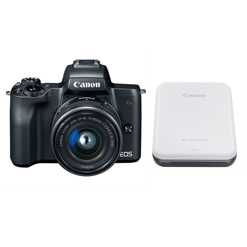 may-anh-canon-eos-m50-kit-15-45mm-den-may-in-anh-mini-canon-pv-123-xam