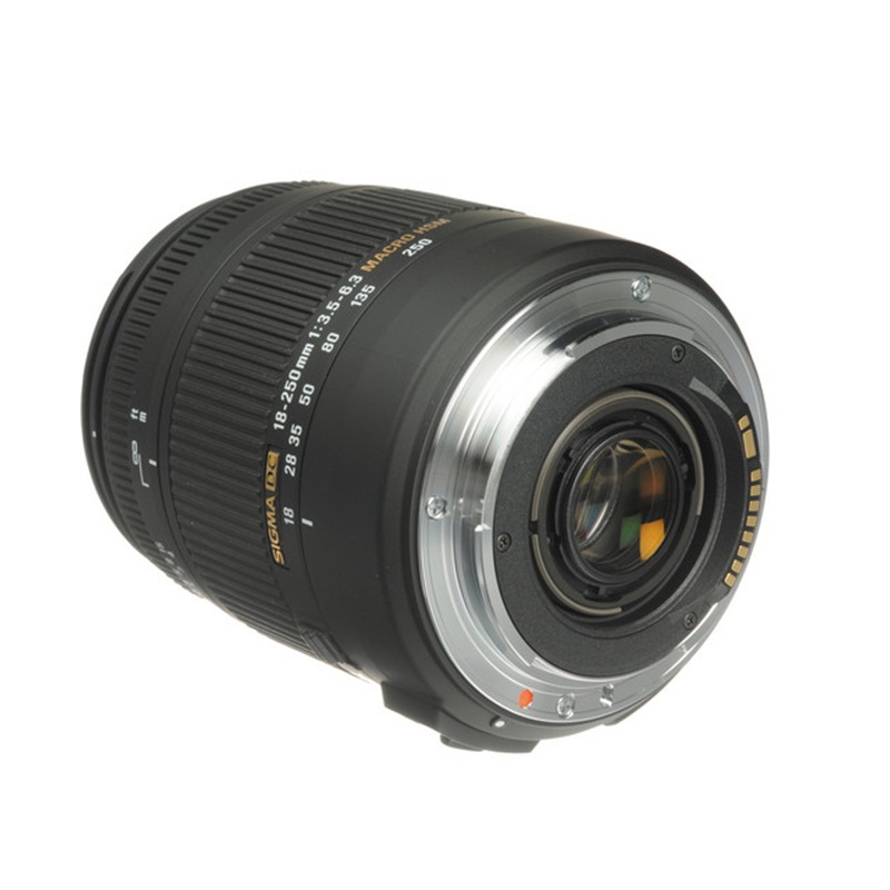 Ống kính Sigma 18-250mm F3.5-6.3 DC Macro OS HSM Cho Canon