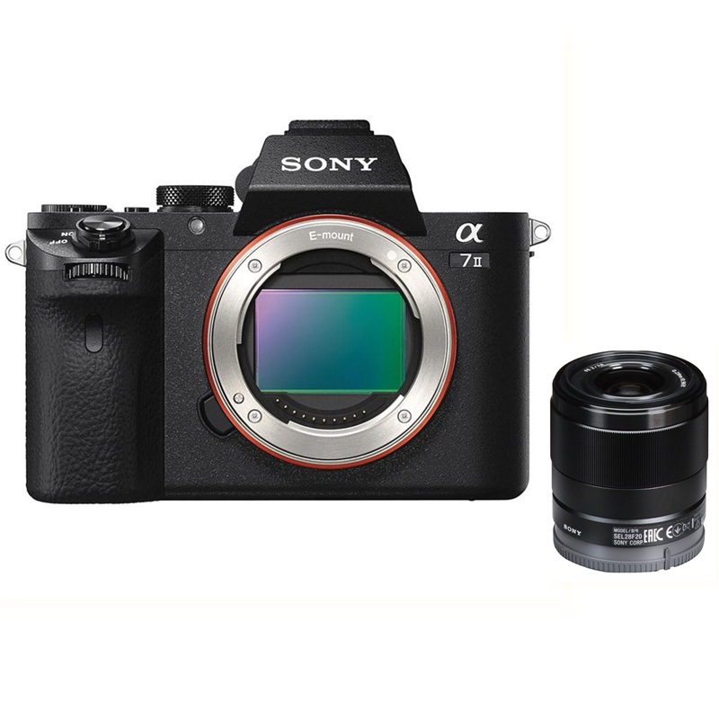 sony-alpha-a7m2-ilce7m2-body-ong-kinh-sony-fe-28mm-f2-sel28f20