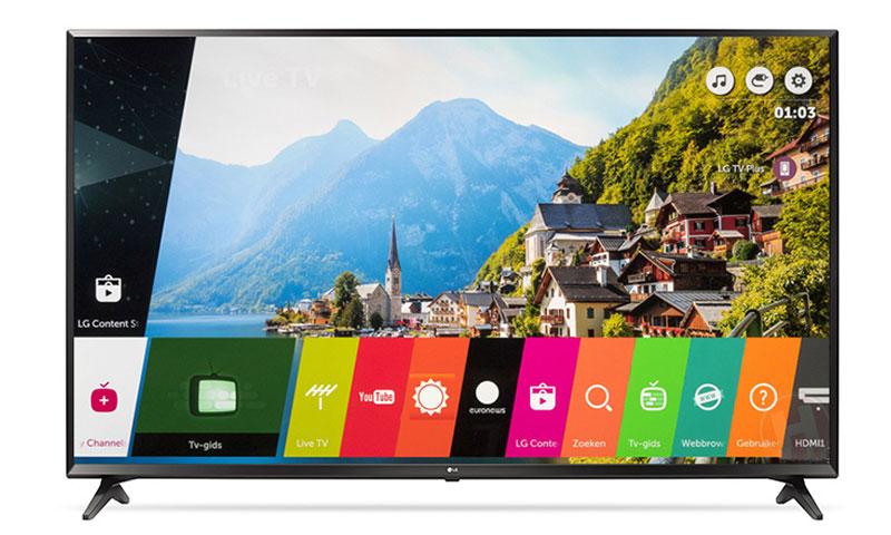 Hệ điều hành WebOS của Smart Tivi 32 inch LG