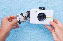 CES 2017 - Polaroid Snap Touch: máy ảnh kiêm máy in ảnh lấy liền