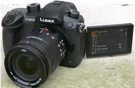 CES 2017 – Quay phim 4K không giới hạn với máy ảnh Panasonic Lumix GH5