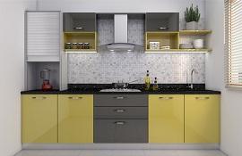 Chỉ với 4 thay đổi bố trí đã giúp mở rộng không gian bếp