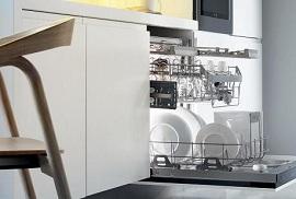 Cách sắp xếp đồ dùng khi rửa với máy rửa bát
